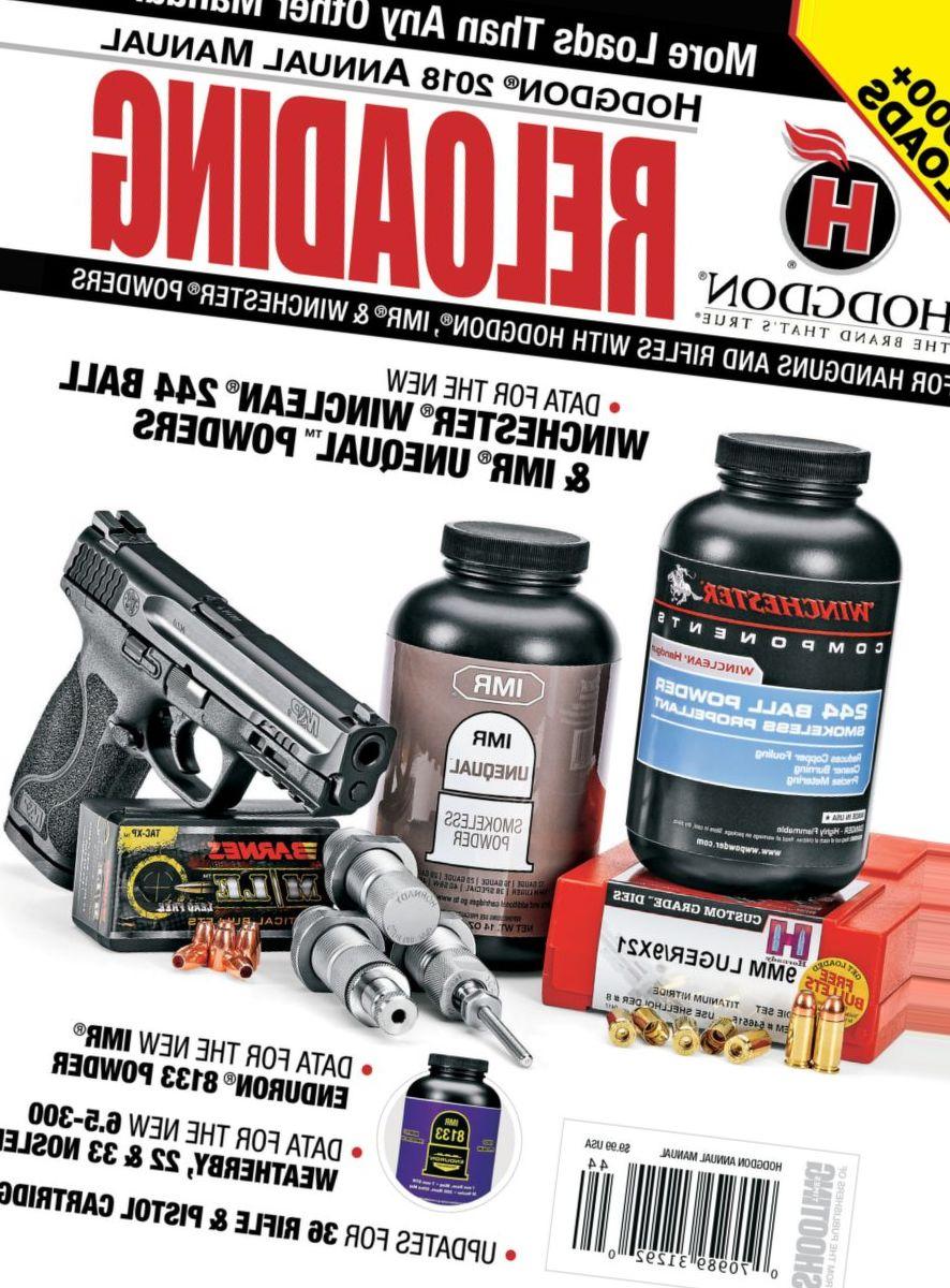 Hodgdon® 2018 Annual Reloading Manual