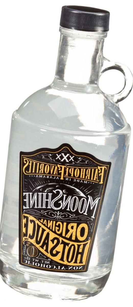 Moonshine Hot Sauce Jug