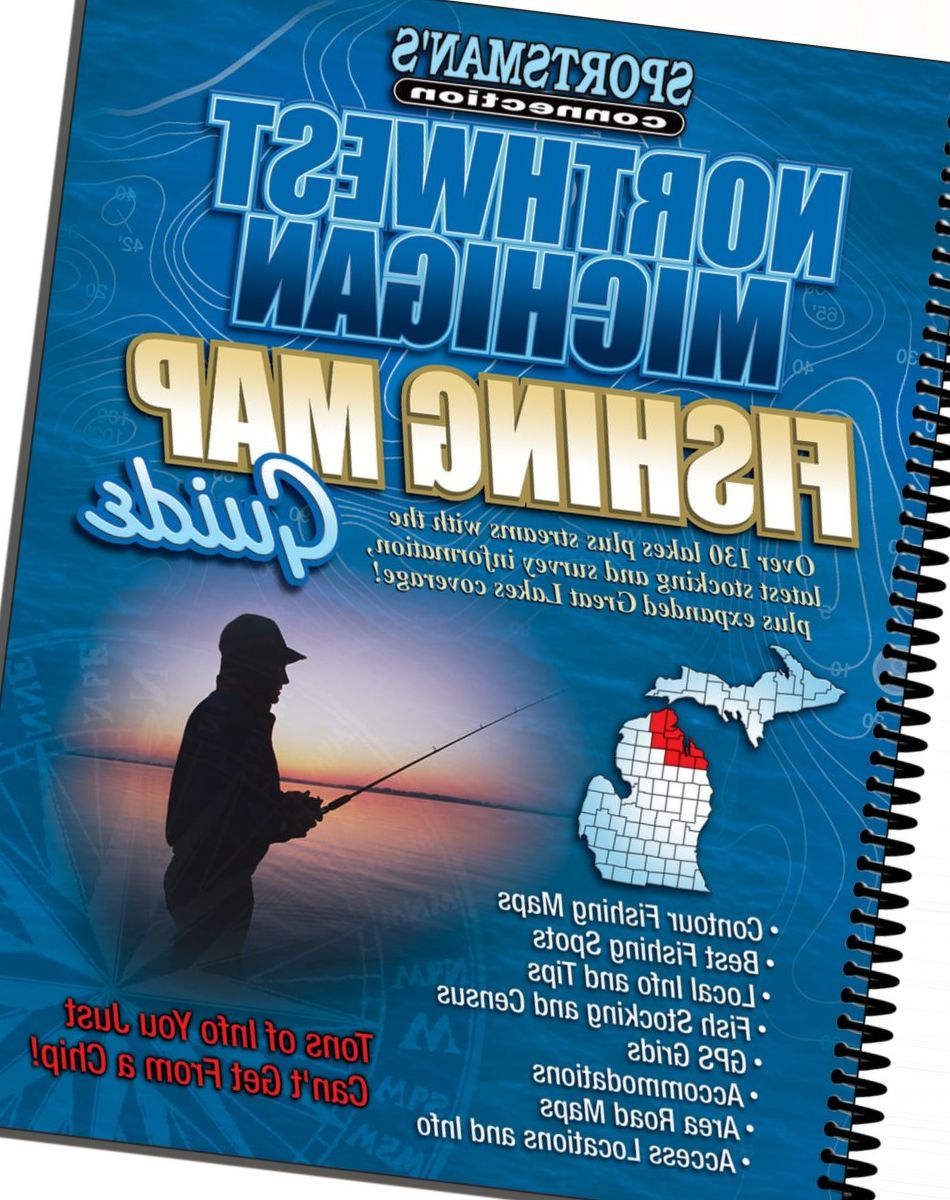 Sportsman's connection Michigan Fishing Map Guides