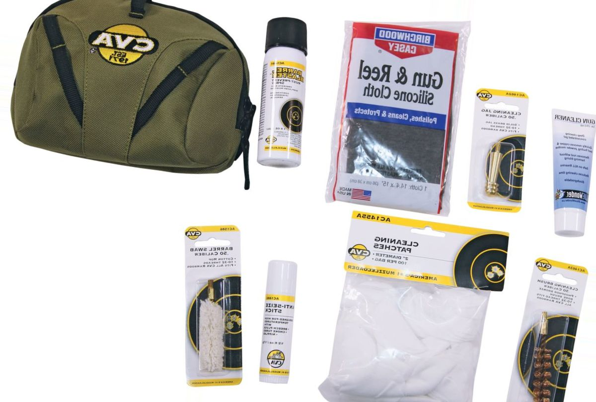 CVA® Black Powder Eight-Piece Field Cleaning Kit