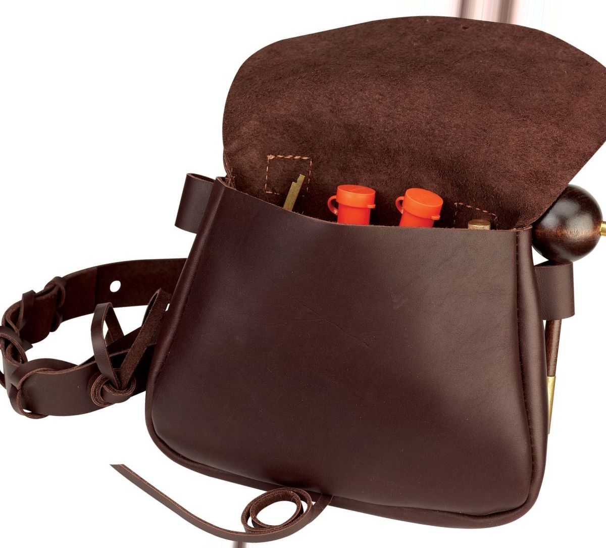 Full-Grain Leather Possibles Bag
