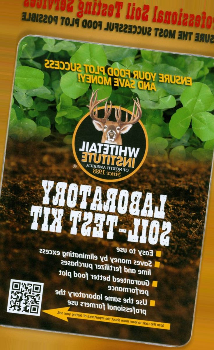 Whitetail Institue Soil Sample Kit