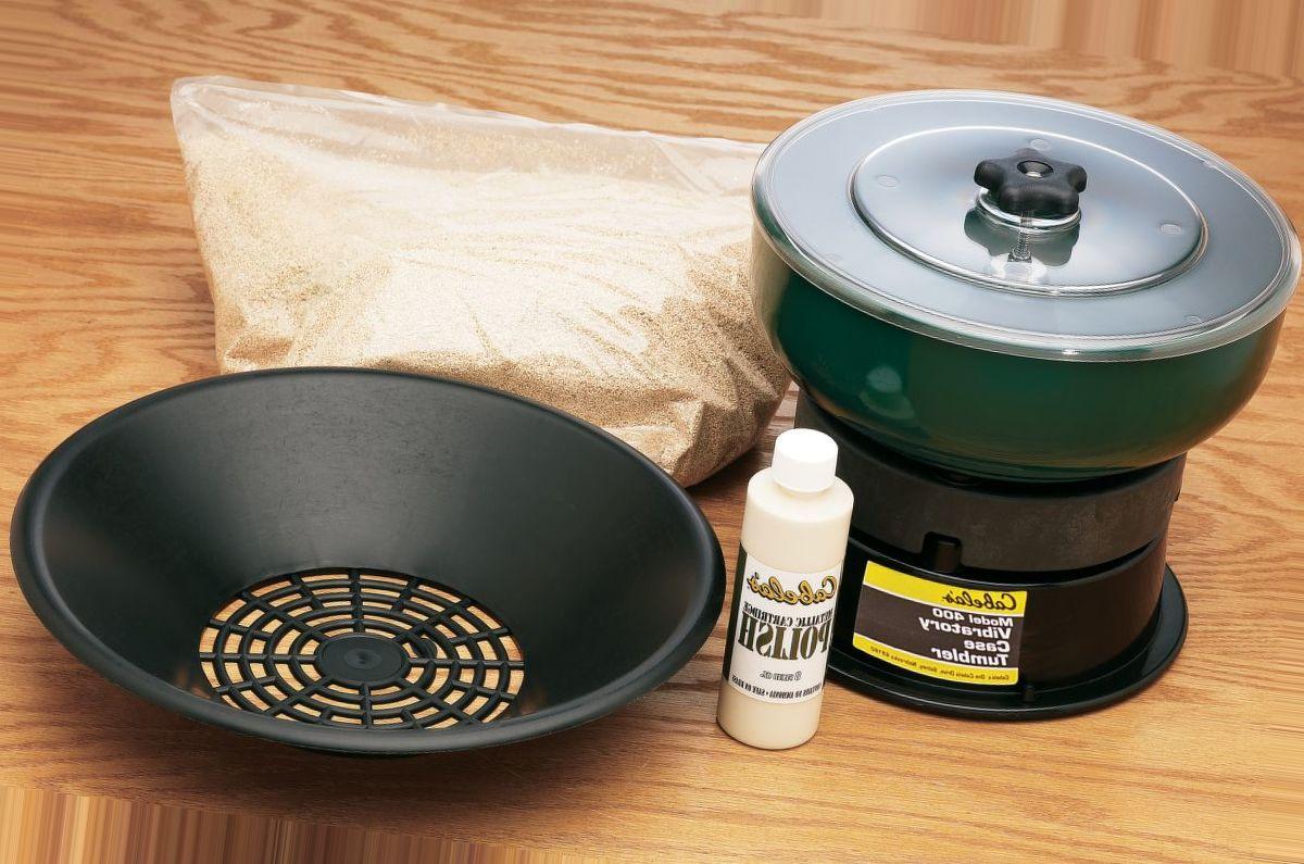 Cabela's Model 400 Vibratory Case Tumbler Kit