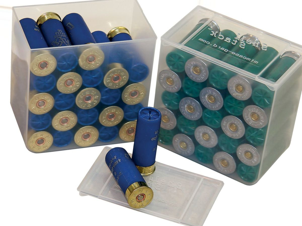 MTM 25-Round Shotshell Box – Four-Pack