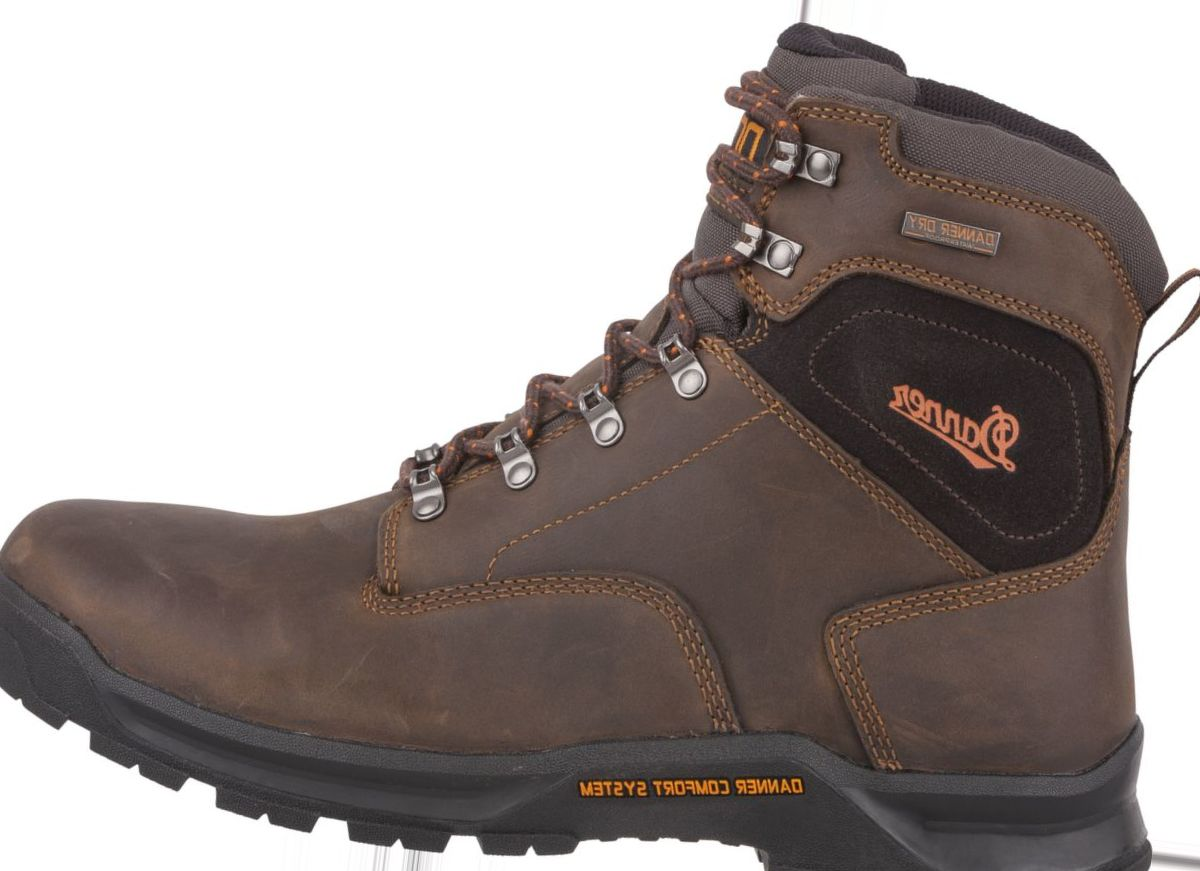 "Danner® Men's Crafter 6"" Plain-Toe Work Boots"