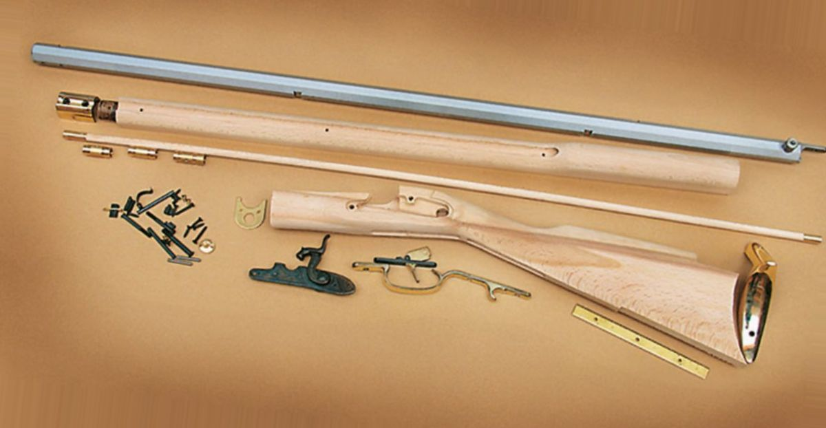 Traditions Kentucky .50-Caliber Percussion Muzzleloader Do-It-Yourself Kit