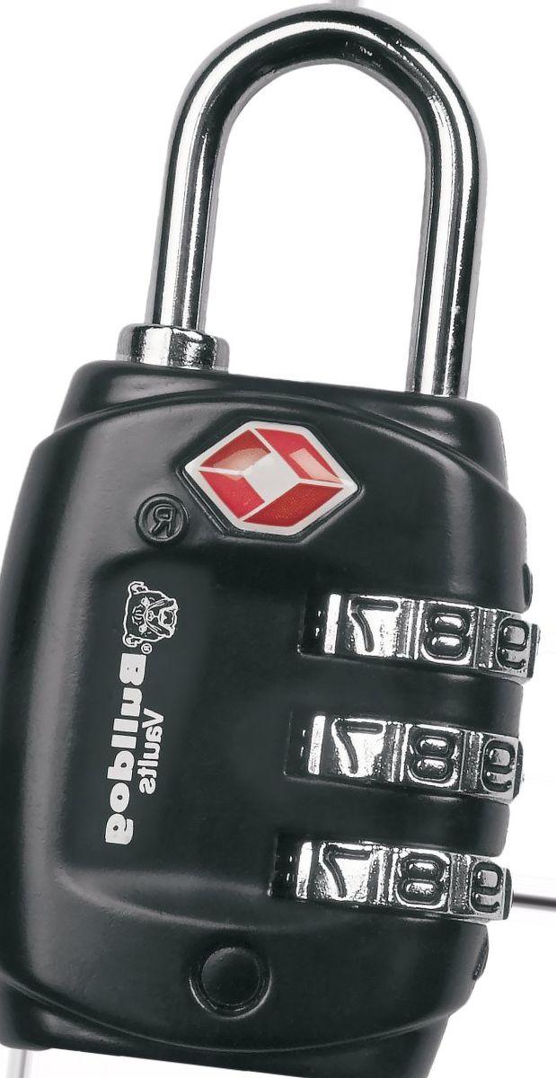 Bulldog TSA Lock with Steel Shank