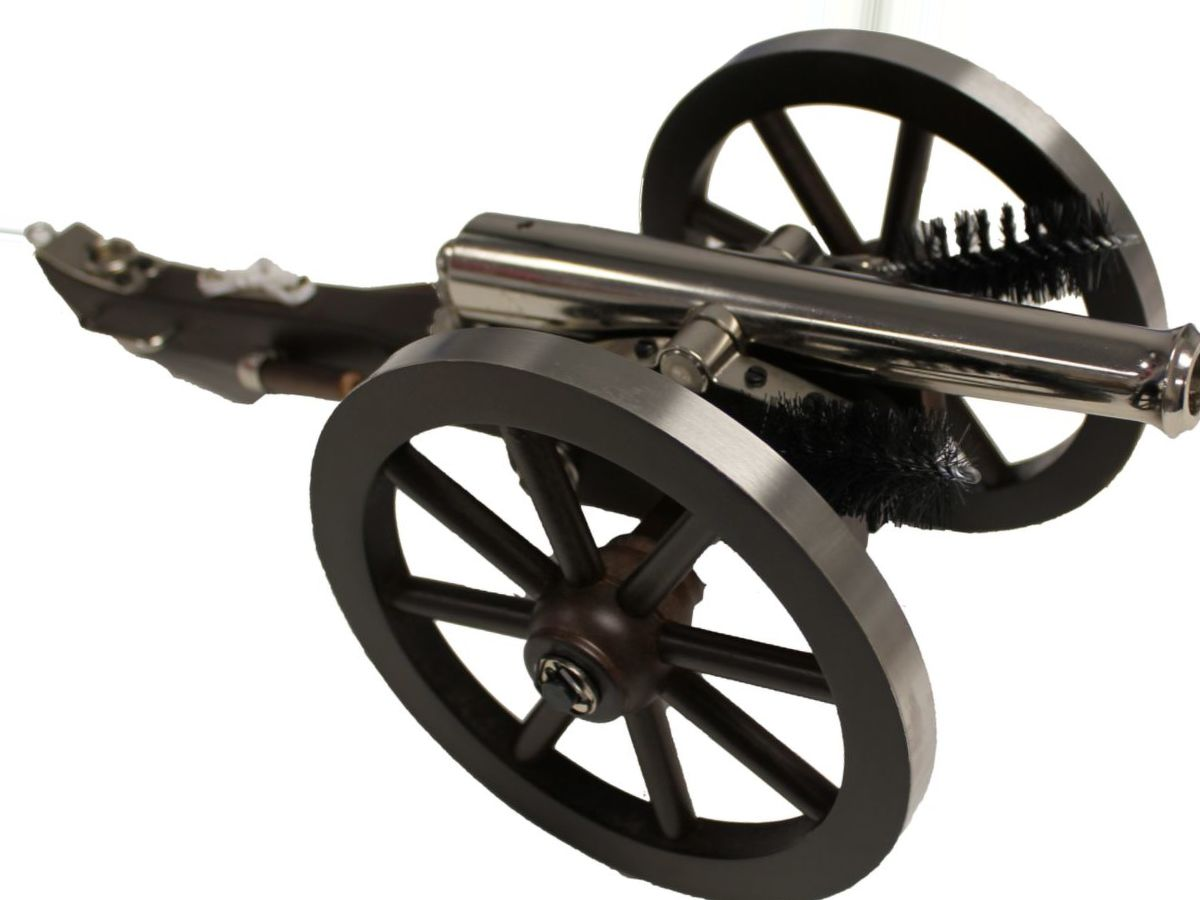 Traditions™ Mini Napoleon III .50-Cal. Cannon – Nickel