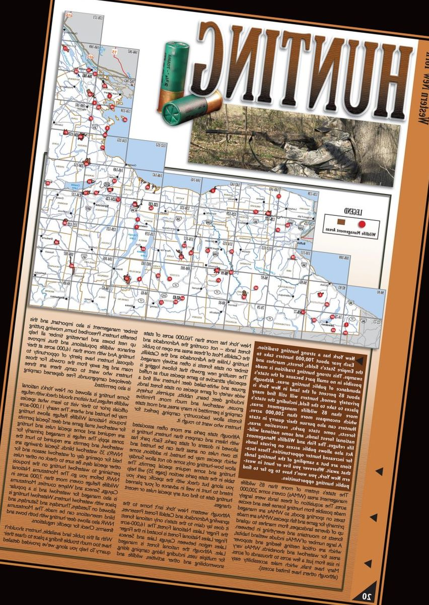 Sportsman's Connection New York Outdoor Atlases