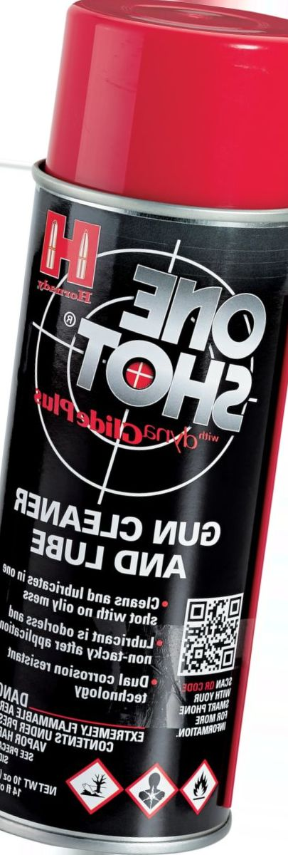 Hornady® One Shot™ Gun Cleaner and Lube with Dyna Glide Plus®
