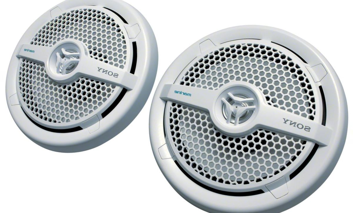 "Sony® 6.5"" 2-Way Coaxial Marine Speakers"