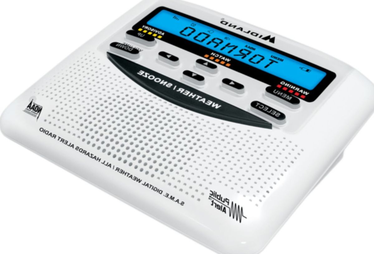 Midland WR-120B Emergency Weather Alert Radio