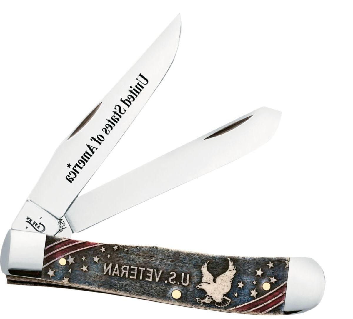 W.R. Case & Sons® NRA Veteran War Folding Knife Gift Set