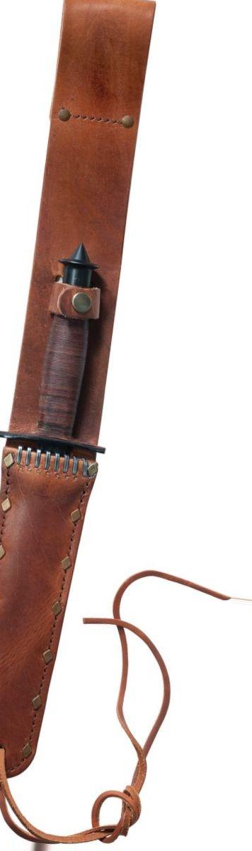 W.R. Case & Sons® V-42 Stilleto Fixed-Blade Knife