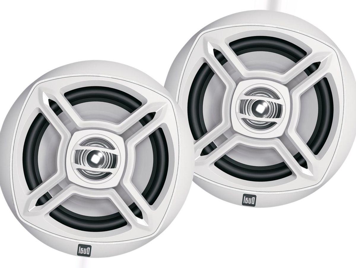 "Dual 6.5"" 100W Dual-Cone Speakers"
