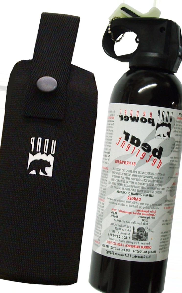 UDAP #18 CP Super Magnum Bear Spray with Chest Holster