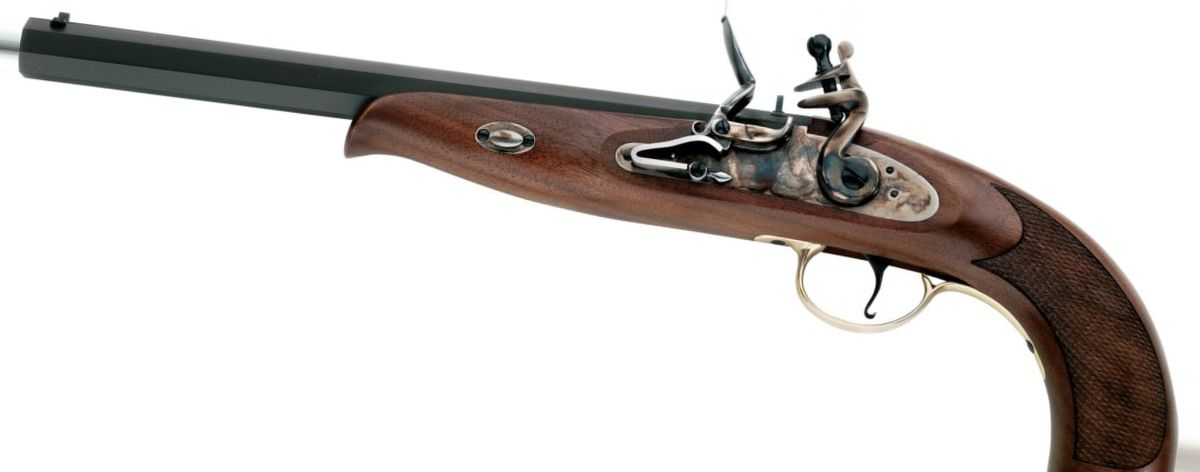 Pedersoli Continental Duelling .45-Cal. Percussion and Flintlock Pistols
