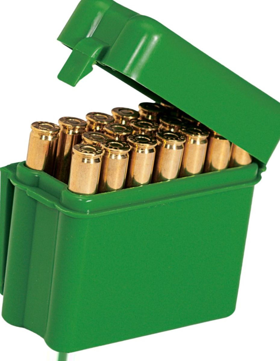 MTM Green 20-Round Belt Style Ammunition Carrier