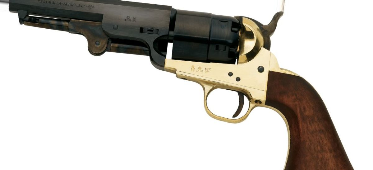 Pietta Model 1851 Confederate Navy .44-Caliber Black Powder Revolver