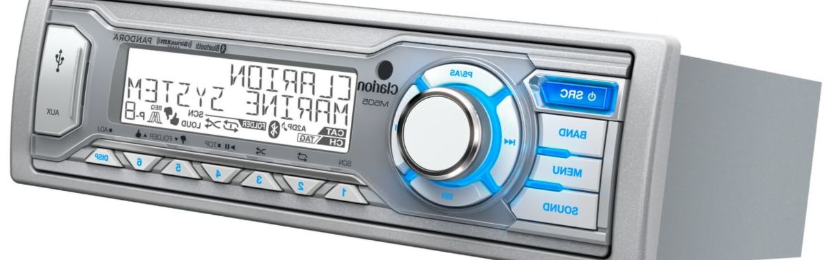 Clarion M505 Stereo Package