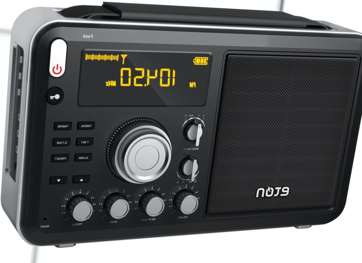 etón NGWFBTB Field Radio with Bluetooth® Streaming