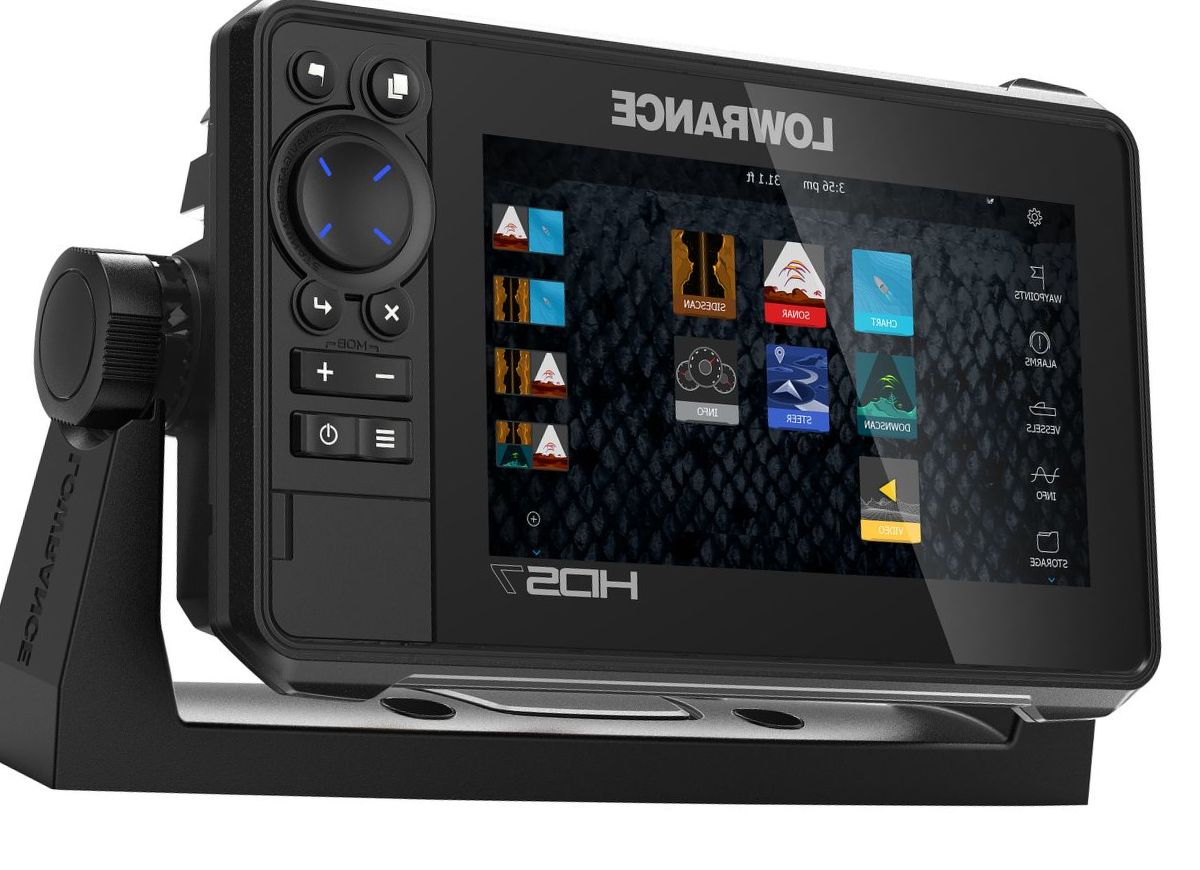 Lowrance® HDS LIVE 7 Fish Finder/Chartplotter with Active Imaging 3-in-1