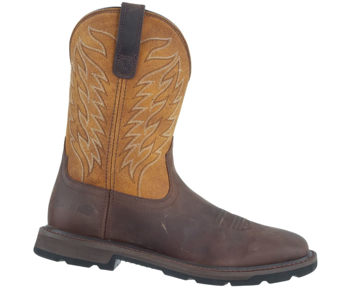 Ariat® Men's Dalton Square-Toe Western Work Boots