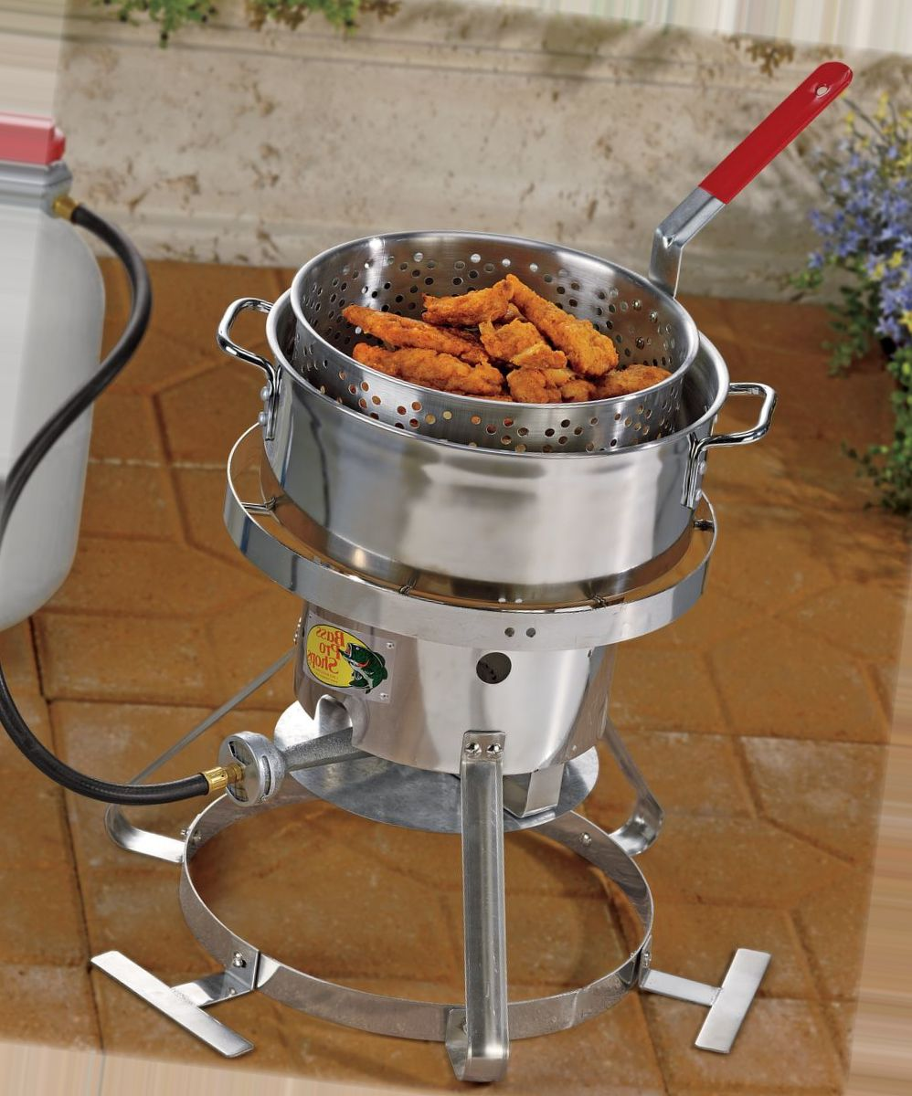 Bass Pro Shops® Stainless Steel Fish Fryer