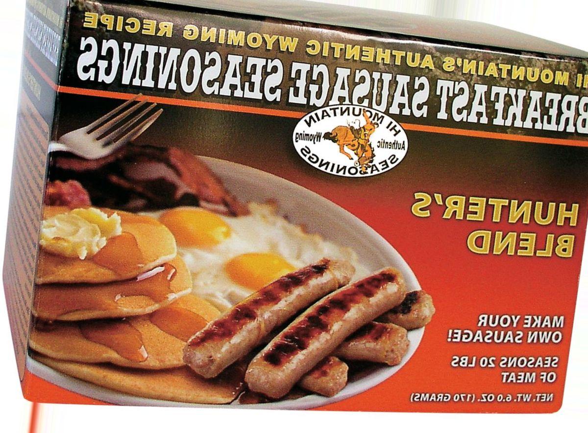 Hi Mountain Breakfast Sausage Seasonings Kit