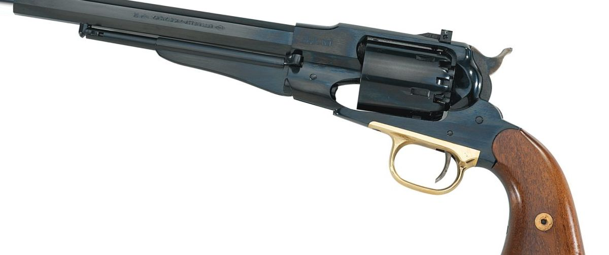 Pietta Model 1858 New Army Target .44-Caliber Black Powder Revolver