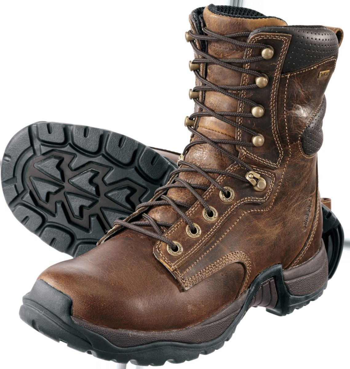 """Cabela's Roughneck™ Men's 8"""" Ledger Safety-Toe Work Boots"""
