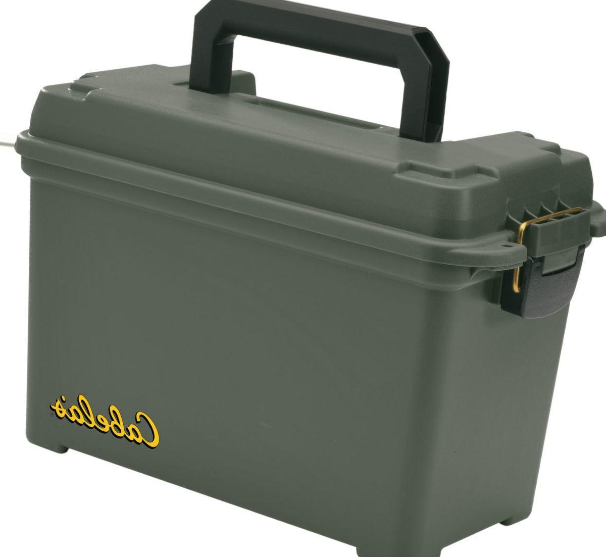 Cabela's Green Dry-Storage Ammunition Box