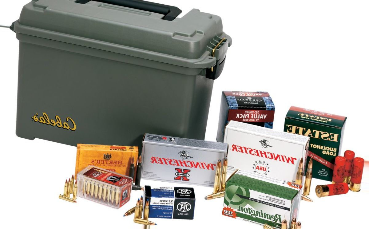 Cabela's Green Dry-Storage Ammunition Box