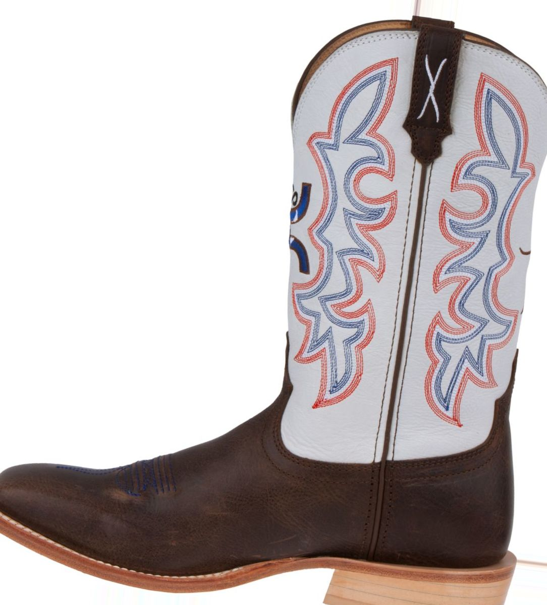 Twisted X Men's HOOey Brown and White Western Boots