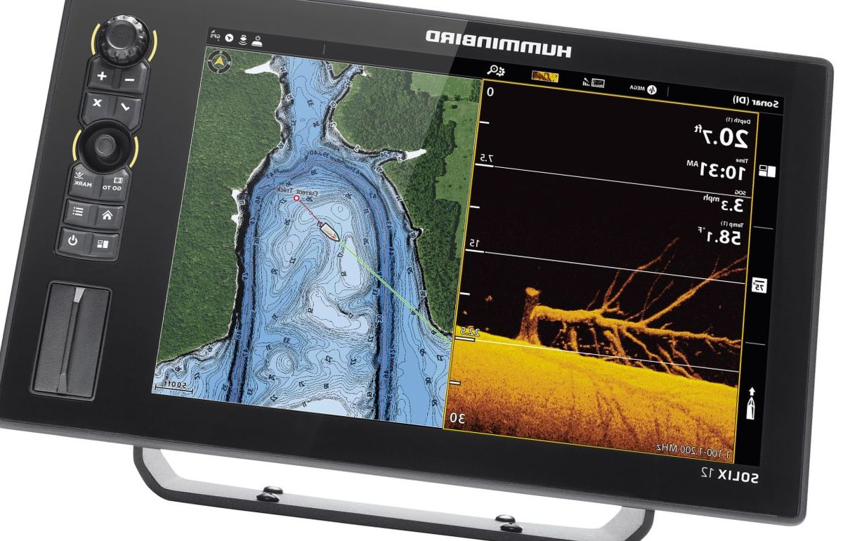Humminbird® SOLIX 12 CHIRP MEGA DI+ G2 Fish Finder/GPS Chartplotter Control Head