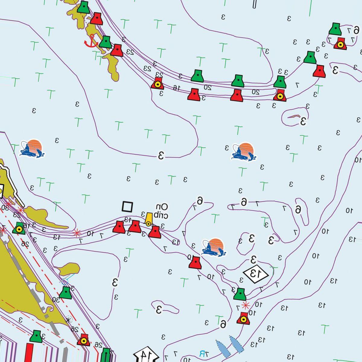 Fishing Hot Spots Pro Digital Mapping