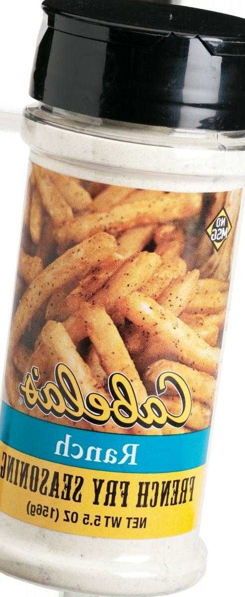 French Fry Seasonings