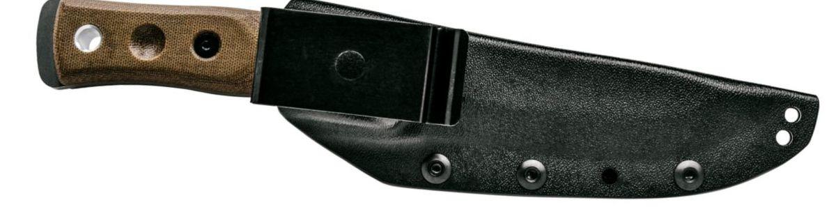 TOPS Knives Fieldcraft Fixed-Blade Knife by BOB