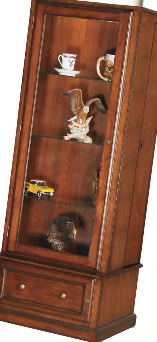 American Furniture Classics 10-Gun Curio/Slider Cabinet