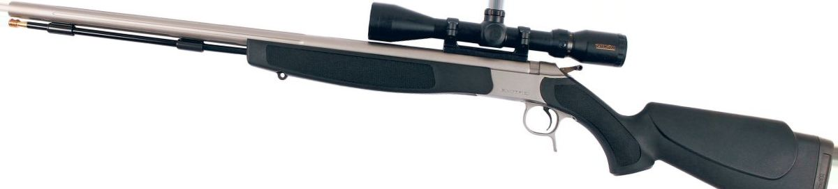 CVA® Optima® V2 Muzzleloader Stainless Steel/Black with 3-9x40 Konus Scope and Gun Case Combo
