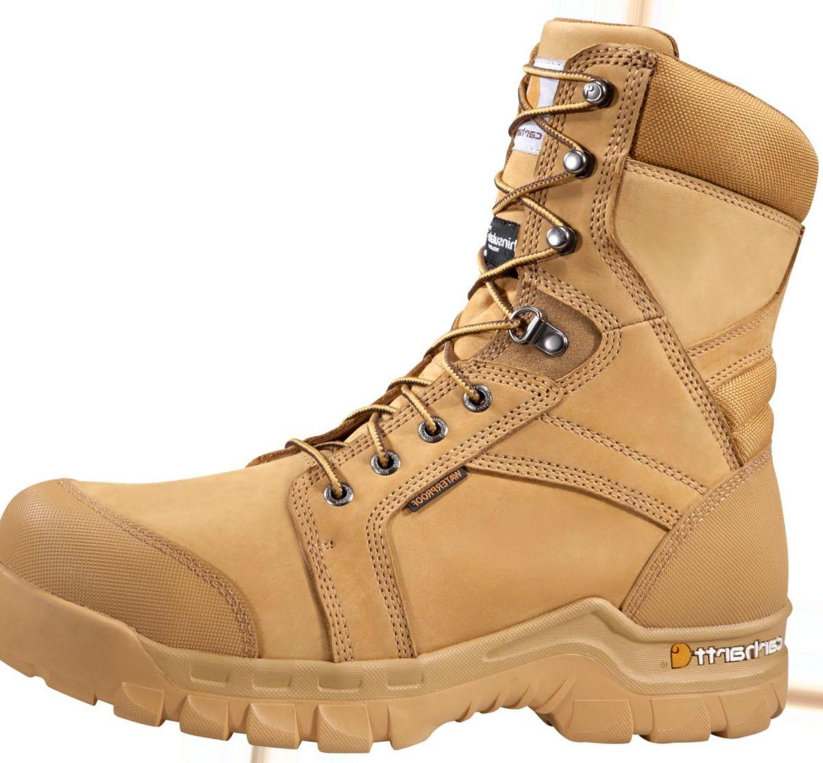 """Carhartt® Men's 8"""" Rugged Flex® Soft-Toe Work Boots"""