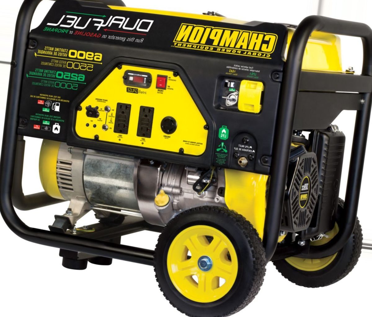 Champion Dual-Fuel Manual-Start Generator