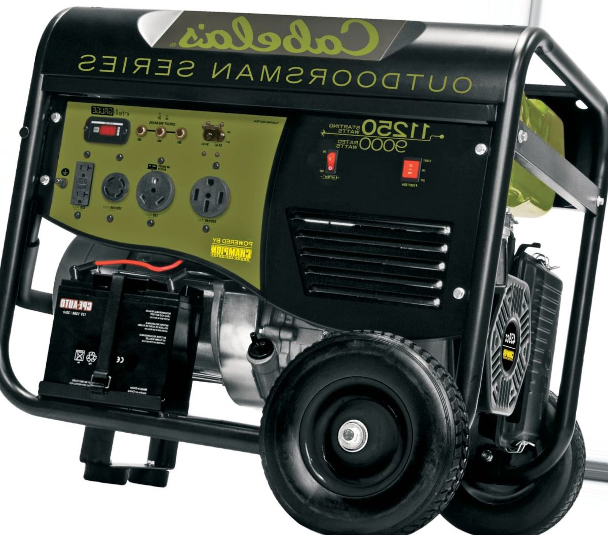 Cabela's Outdoorsman 9000/11250-Watt Remote-Start Generator by Champion
