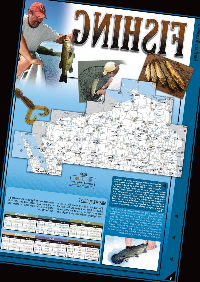 Sportsman's Connection Wisconsin Outdoor Atlases