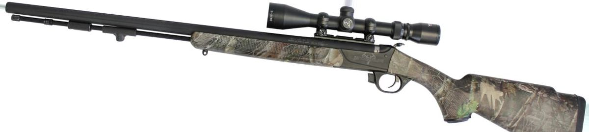 Traditions™ Pursuit™ G4 Ultralight Muzzleloader Combo in TrueTimber Kanati Camo