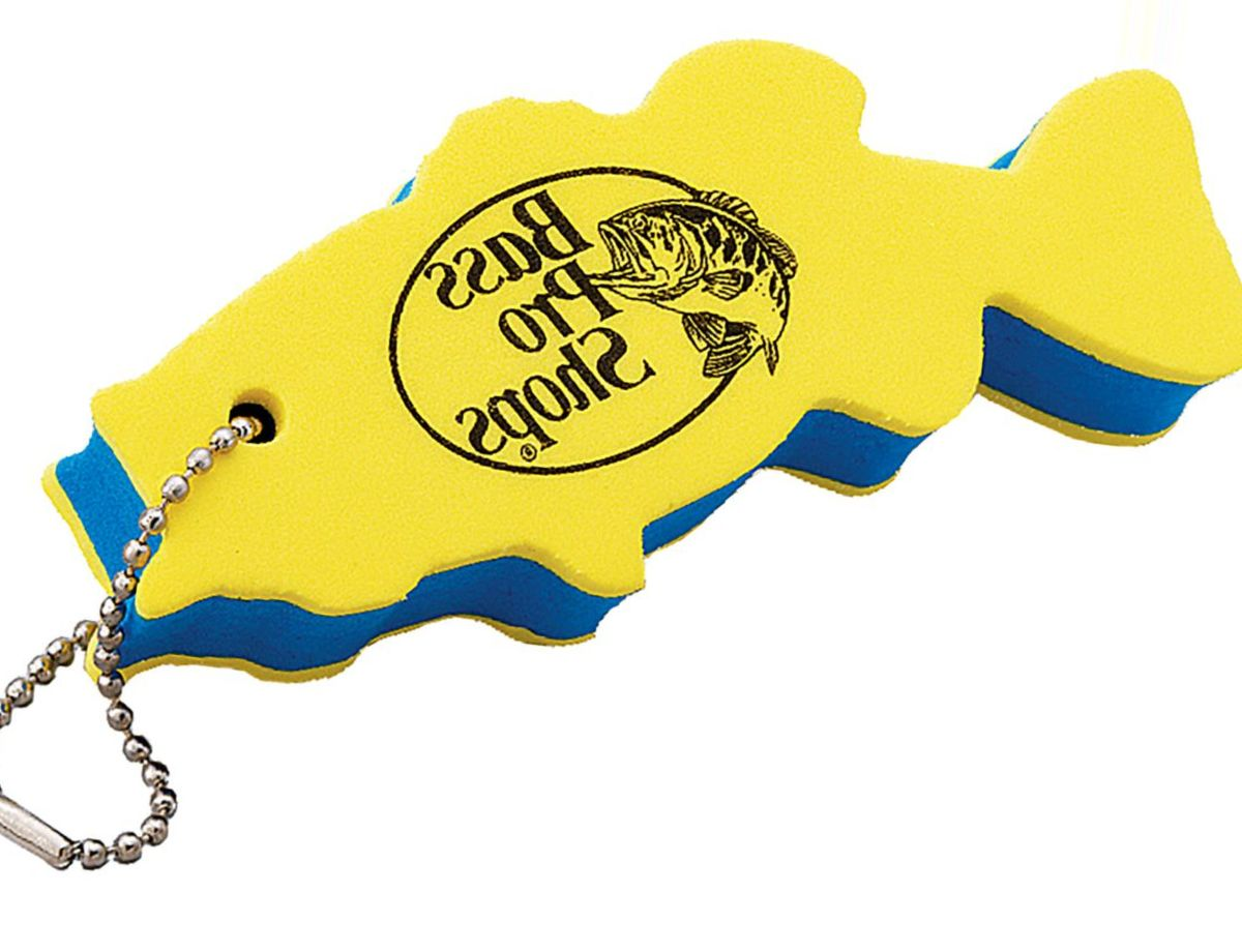 Bass Pro Shops® Fish-Shaped Floating Key Chain