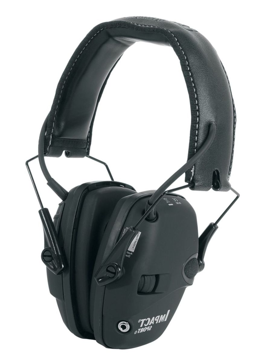 Howard Leight Impact™ Sport Black Earmuffs