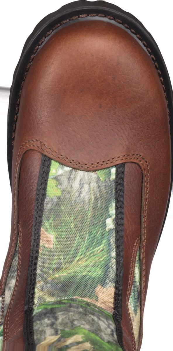 RedHead® Men's Bayou NWTF Waterproof Side-Zip Snake Hunting Boots