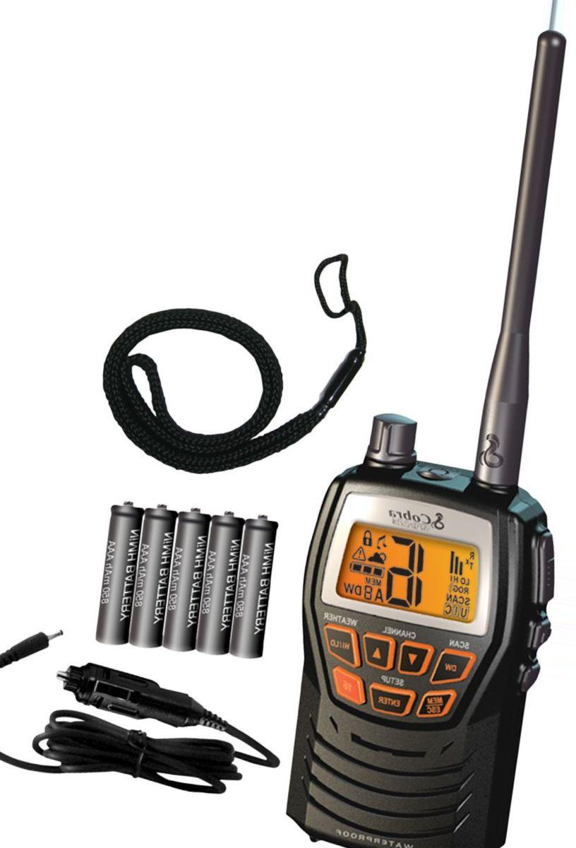 Cobra® MR HH125 Handheld VHF Radio