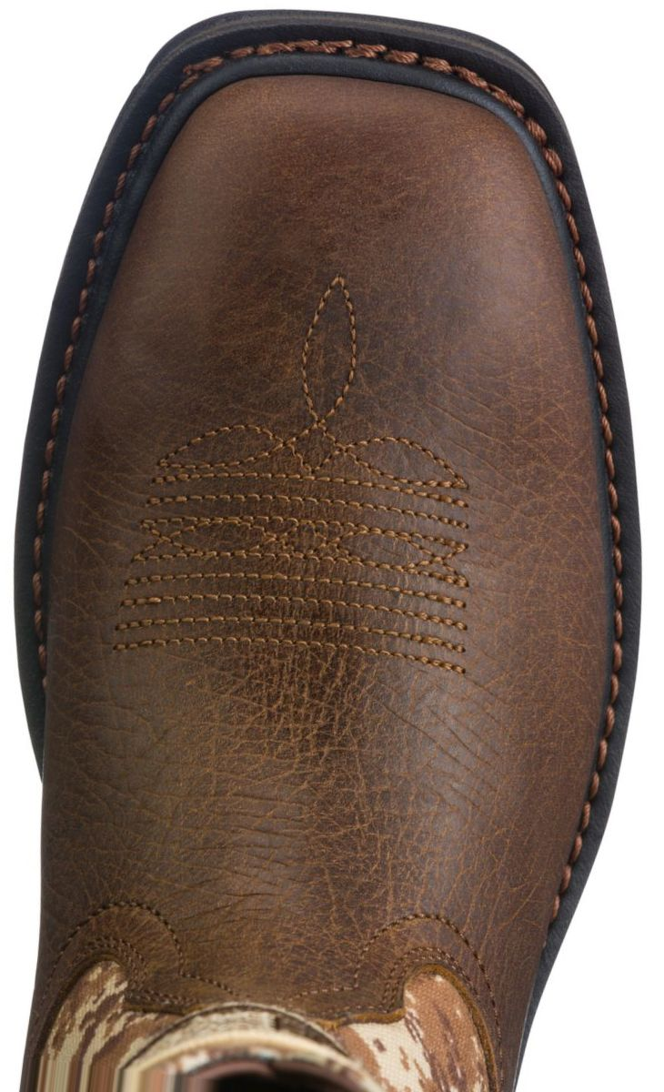 Ariat® Men's Workhog Patriot Wide Square-Toe Pull-On Work Boots